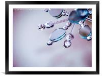 Snow flake , Framed Mounted Print