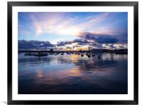 Falmouth Harbour , Framed Mounted Print