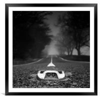 Middle of the Road, Framed Mounted Print