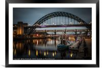 Moody Quayside, Framed Mounted Print