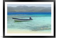 Dominican republic        , Framed Mounted Print