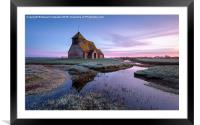 Fairfield Church, Framed Mounted Print