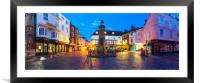 Canterbury Buttermarket, Framed Mounted Print