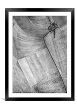 Leap into the Unknown, Framed Mounted Print