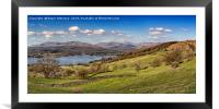 Windermere Panorama, Framed Mounted Print