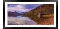 The Old Boathouse, Framed Mounted Print