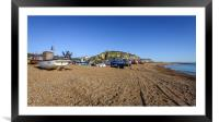 The Stade Hastings, Framed Mounted Print