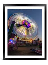 Spin at Newcastle Hoppings, Framed Mounted Print