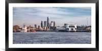 Dock, Buenos Aires, Argentina, Framed Mounted Print