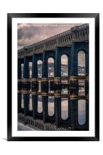 Tay Rail Bridge, Framed Mounted Print