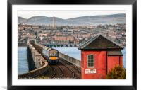 Dundee City, Framed Mounted Print