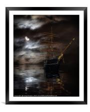 RRS Discovery Ship - Dundee, Framed Mounted Print