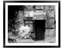 forgotten house, Framed Mounted Print