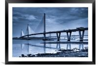 The Queensferry Crossing, Framed Mounted Print
