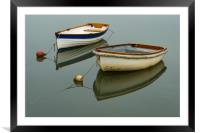 Reflections at Coombe, Framed Mounted Print