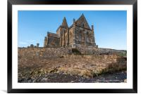 The Auld Kirk in St  Monans, Scotland, Framed Mounted Print