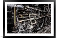 Steam & Grease, Framed Mounted Print
