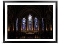 Saint Patricks Cathedral in Dublin, Framed Mounted Print