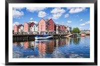 Along The Exeter Quays, Framed Mounted Print