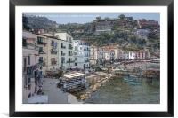 Sorrento, Italy, Framed Mounted Print