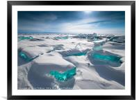 Baikal Treasures, Framed Mounted Print
