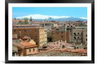 View of Segovia, Framed Mounted Print