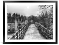 City Walls, Framed Mounted Print
