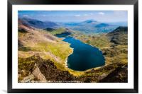 View from Snowdon, Framed Mounted Print