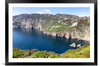 Inlet in Cliffs of Moher , Framed Mounted Print