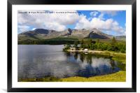 Boathouse on Lough Inagh, County Galway, Framed Mounted Print
