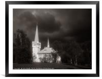 Gathering Storm, Framed Mounted Print