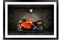 BMW K1300S Old Room, Framed Mounted Print