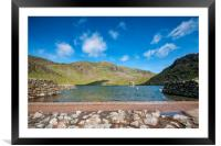 Levers Water, Framed Mounted Print
