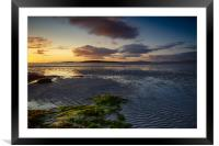 Clachan Sands, Framed Mounted Print