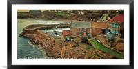 Crail Harbour Fife, Framed Mounted Print