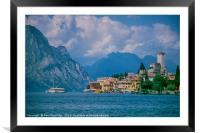 Malcesine, Lake Garda, Framed Mounted Print