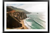 California Pacific Coast Road Trip 0577, Framed Mounted Print