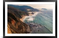 California Pacific Coast Road Trip 0581, Framed Mounted Print