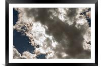 Cloud Space 7417, Framed Mounted Print