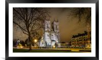 Westminster Abbey, Framed Mounted Print