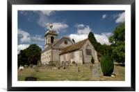 Church of St. Lawrence West Wycombe 2, Framed Mounted Print