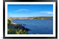 Cattewater and Mount Batten, Framed Mounted Print