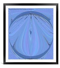 The Blues, Framed Mounted Print