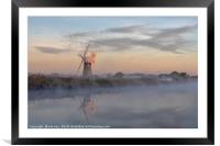 Morning Reflection, Framed Mounted Print