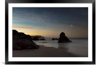 Stary night at Durness, Framed Mounted Print