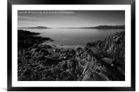 Lough Swilly Seascape, Framed Mounted Print