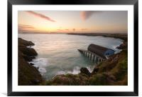 Padstow Lifeboat Station, Framed Mounted Print