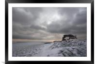 Winter at Quarry Hill, Framed Mounted Print