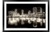 Media City, Salford Quays No. 3, Framed Mounted Print