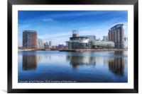 Salford Quays No. 5, Framed Mounted Print